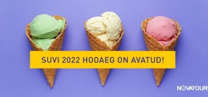 SUVI 2022 põhisihtkohtade reiside müük on alanud!