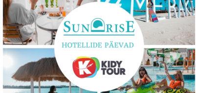 SUNRISE HOTELLIDE PÄEVAD 14.09. – 20.09.2020