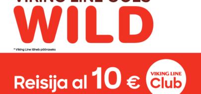 VIKING LINE –  Reisijapilet alates 10 EUR!