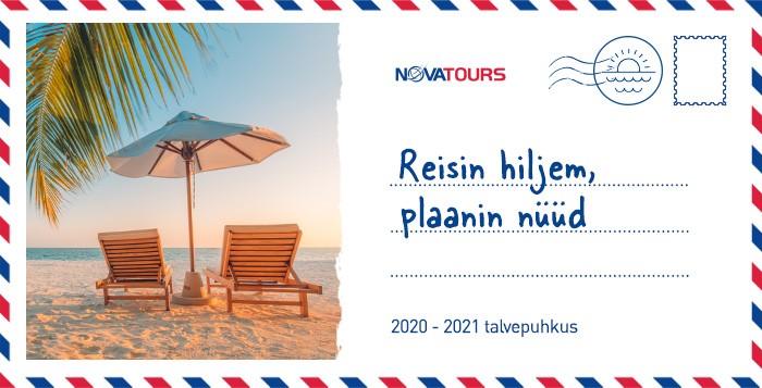 NOVATOURS 2020/2021 TALVEHOOAJA KAUGREISID