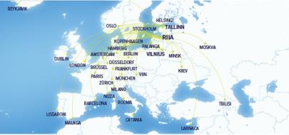airBaltic   Kuhu saab aprillis lennata?