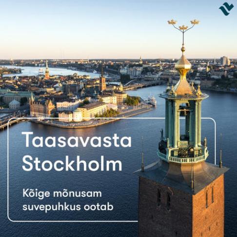 Alates 9. juulist avatakse Tallinna-Stockholmi laevaliin