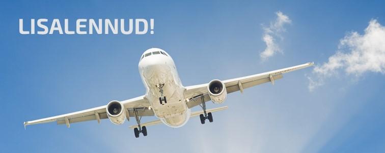 Lisalennud Tallinnast Hurghadasse 20.10.2021-12.01.2022